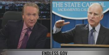 Bill Maher: Ageism Preventing Democrats From Hyping Jerry Brown For President