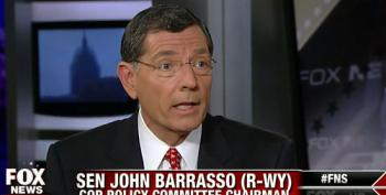 John Barrasso Complains Obama Doesn't Seem Ready To Compromise