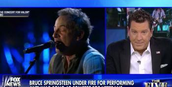 Fox Pundits Carp About Bruce Springsteen And Eminem Performing At Concert For Valor