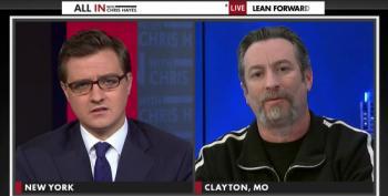 Chris Hayes Politely Interviews KKK Imperial Wizard Frank Arcona