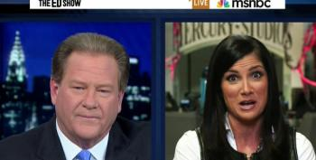 Ed Schultz Lets Dana Loesch Steamroll Him With A Barrage Of Obamacare Lies