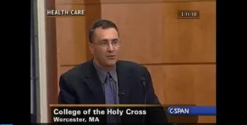 Jonathan Gruber: 'Americans Don't Care About The Uninsured'