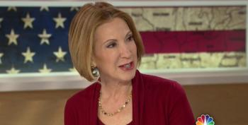 Chuck Todd Asks Carly Fiorina If She's Considering Presidential Run