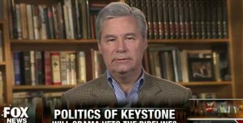 Sen. Whitehouse Knocks Down Right Wing Talking Points On XL Pipeline