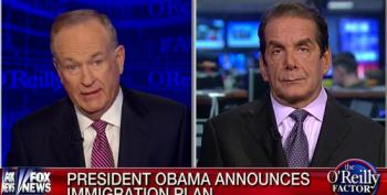 Bill O'Reilly Tries To Get Charles Krauthammer To Call President Obama 'A Bad Person'