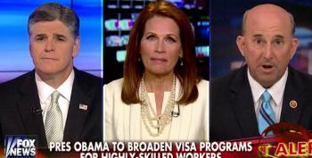Bachmann Calls For Rally To 'Defund Amnesty'
