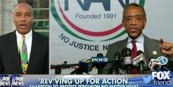 Blacksphere Creator Wants Al Sharpton Arrested For Protesting In Ferguson