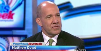 Matthew Dowd Blames 'Both Sides' For Washington Gridlock