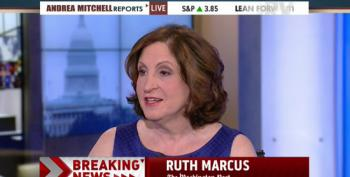 Ruth Marcus Opines Over Obama's 'Two Big Asks' After He 'Royally Annoyed' Republicans