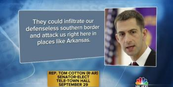 Cotton: Fearmongering Over ISIS On Southern Border Not Just Campaign Rhetoric