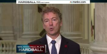 Rand Paul Blames Taxes, Politicians And Everyone But Cops For Garner's Death