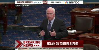 John McCain Gives Impassioned Speech Defending Release Of 'Torture Report': UPDATED