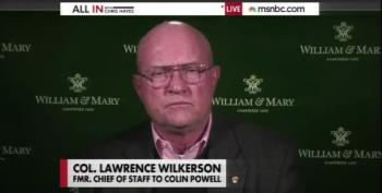 Col. Wilkerson: Only Person Fully Read In To Torture Plan Was Richard Bruce Cheney