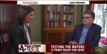 Rick Perry: 'Running For The Presidency Is Not An IQ Test'