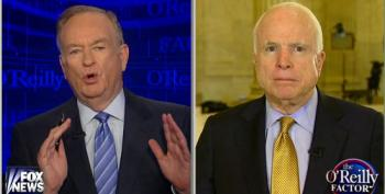McCain Tells O'Reilly We Shouldn't Engage In 'Spanish Inquisition Methods Of Torture'
