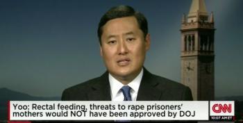 John Yoo Admits Rectal Feeding, Sleep Deprivation, Threatened Rape Is Torture