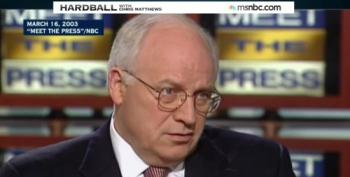 Dick Cheney's 'Meet The Press'  Greatest Hits Of 2001-2003