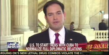 Marco Rubio Reacts To Cuba Deal, Predictably: Calls Obama Worst Negotiator Since Jimmy Carter