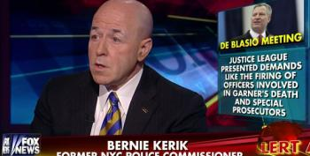 Fox Brings On Ex-Con Bernie Kerik To Attack DeBlasio For Meeting With Protest Groups
