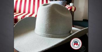 Just In Time For Christmas: RNC Proud To Offer Official Dick Cheney Cowboy Hat