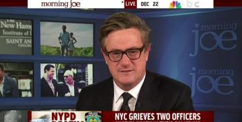 Joe Scarborough On NYPD Shootings: 'Words Matter The Most'