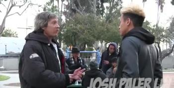 Prankster Wonders How A Homeless Man Spends $100