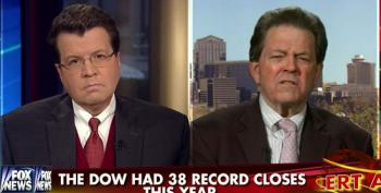Art Laffer Tells Cavuto The Economy Is Recovering Because Stimulus Money Dried Up