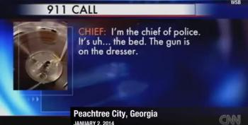 Police Chief's 911 Call After Accidentally Shooting His Wife