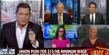 Fox Cashin' Crew Attack Unions For Push To Raise Minimum Wage To $15 Per Hour