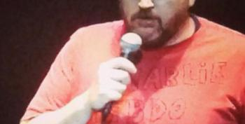Louis C.K. Wears Homemade Charlie Hebdo T-Shirt Last Night