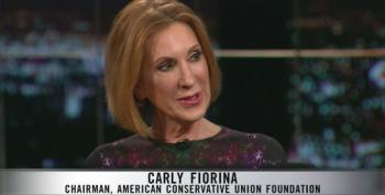 Carly Fiorina Pretends That Republicans Care About Income Inequality