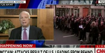 McCain Can't Explain How More 'Boots On The Ground' Would Prevent 'Lone Wolf Attacks