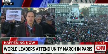 World Leaders Attend Unity March In Paris