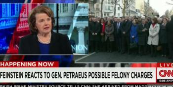Feinstein On Petraeus Conviction: 'This Man Has Suffered Enough'
