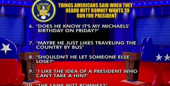 Things Americans Said When They Heard Mitt Romney Wants To Run For President