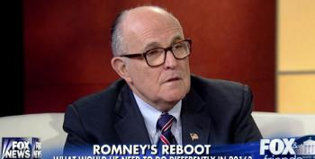 Giuliani: Romney Could Have Won If He'd Made Benghazi A Bigger Issue