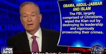 Bill O'Reilly Claims The KKK Was Wiped Out By The FBI