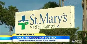 Hospital Security Questioned As Teen Posed As Doctor