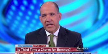 Matthew Dowd Questions Mitt Romney's Third Term Try