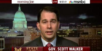 Walker Is Attacking Wisconsin Workers Because Of Putin, ISIS