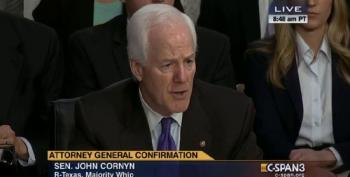 John Cornyn Accuses Eric Holder Of Harassing States Like Texas On Voter ID