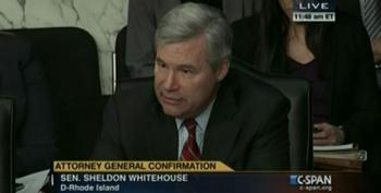 Sen. Whitehouse Calls Out GOP For Turning AG Hearing Into 'Soundbite Factory For Fox'