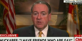 Mike Huckabee Calls Gay Marriage A Lifestyle Choice Like Drinking Or Swearing