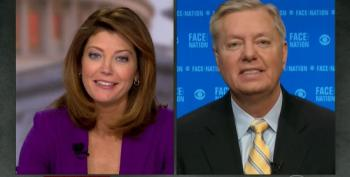 Norah O'Donnell Asks Graham How He Can Get Through A GOP Primary