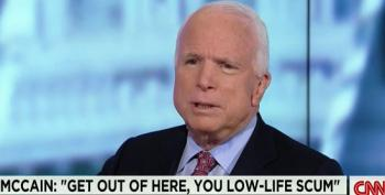 John McCain Claims Code Pink Was Threatening Kissinger's Life