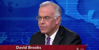 David Brooks Pretends U.S. Has The 'Moral High Ground' Spreading Democracy In The Middle East