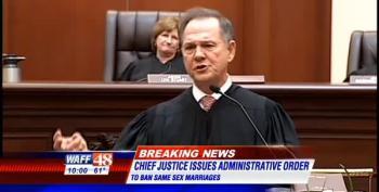 AL Chief Justice Orders Halt To Same-Sex Marriage Licensing