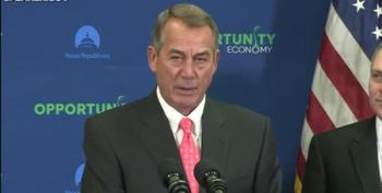 Boehner Chides Obama For Standing With 'Left-Fringe Extremists And Anarchists' On Keystone XL