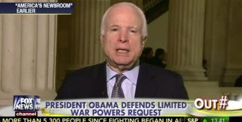 John McCain: 'We Are Going To Have To Have Boots On The Ground' To Defeat ISIS