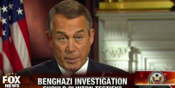 Boehner Denies Benghazi Witch Hunt Is All About Hurting Hillary
